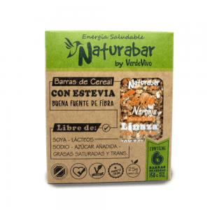 Barritas de cereal naturabar cacao naranja 25g Pack 6