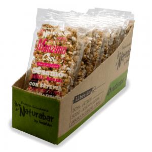 Barritas de cereal naturabar manzana chai 25g Pack 15