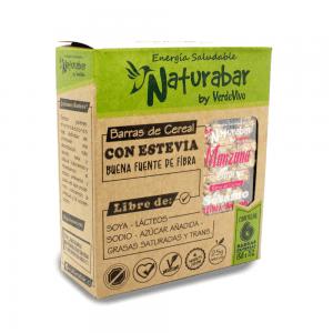 Barritas de cereal naturabar manzana chai 25g Pack 6