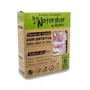Barritas de cereal naturabar maqui cranberries 25g Pack 6