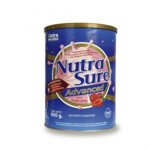 Nutrasure advance frutilla x 800 gramos