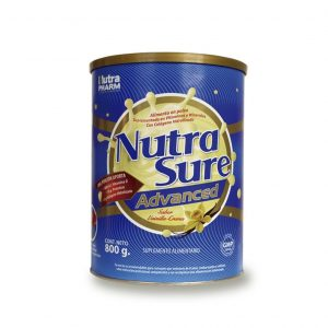Nutrasure advance vainilla crema x 800 gramos