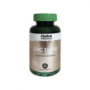Zinc 15 x 60 comprimidos