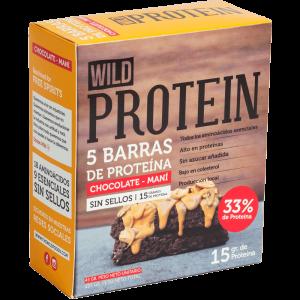 Wild Protein Chocolate + Maní 5 Un