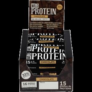 Wild Protein Chocolate 16 Un