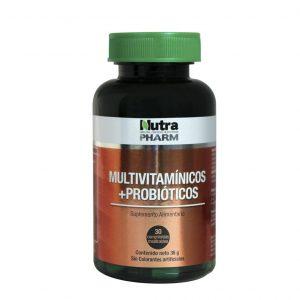Multivitaminico mas probiotico 30 comprimidos