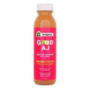 Good AJ 370ml (Manzana / Jengibre+Probióticos) Pack  6 jugos