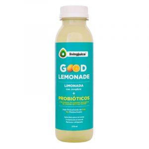 Good Lemonade Jengibre 370ml  (Limón / Jengibre+Probióticos) Pack 6 Jugos