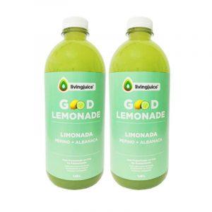 Good Lemonade Pepino Albahaca 1.45 lt (Limón / Pepino / Albahaca) Pack 2 Jugos