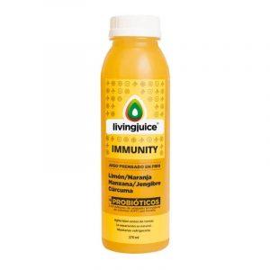 Immunity 370ml (Limón / Naranja / Manzana / Jengibre / Curcuma+Probióticos) Pack 6 Jugos