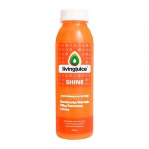 Shine 370ml (Zanahoria / Naranja / Piña / Manzana / Limón) Pack 6 Jugos
