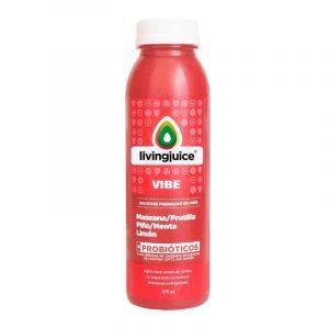 Vibe 370ml (Manzana / Frutilla / Piña / Menta / Limón+Probióticos) Pack 6 Jugos